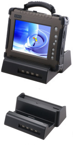 Docking Station Multifunzione per Rugged Tablet PC