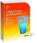 Microsoft Office 2010 Home and Business (PKC)