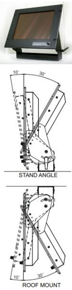 Staffa di fissaggio monitor Marino
