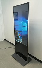 "Totem Verticale 55"" Touch Screen"