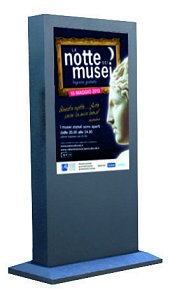 """Totem 55"""" Touch Screen ESTERNO"""