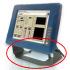 Kit supporto fissaggio Display/Panel PC Rugged
